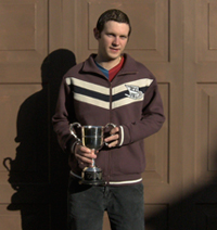 Brian McMahon (Last and youngest winner of the Mens Perpetual Cup) Photo 2009